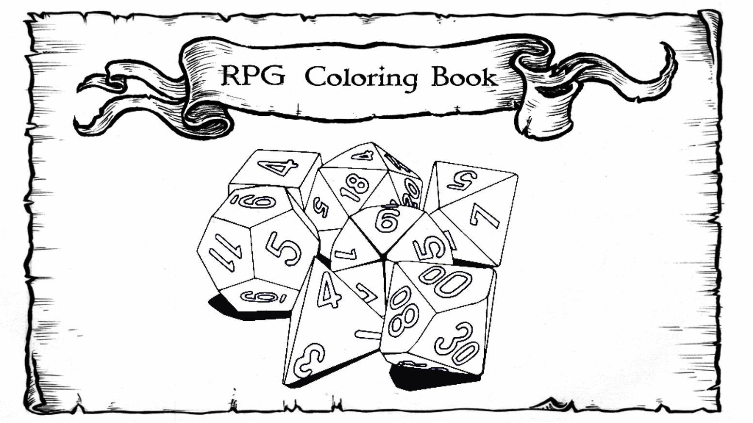 The RPG Coloring Book by Arcana Games — Kickstarter