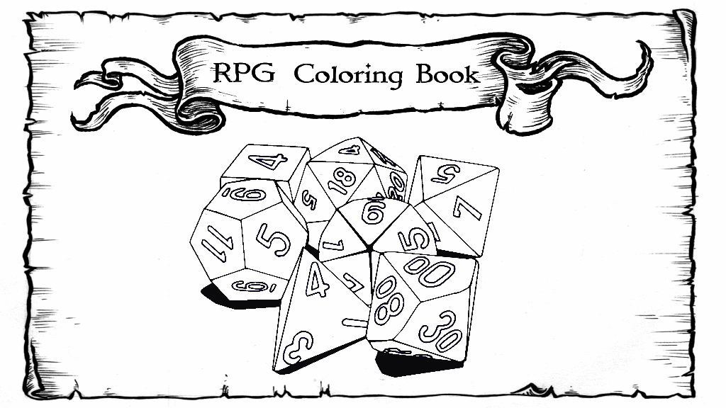 The RPG Coloring Book by Arcana Games — Kickstarter