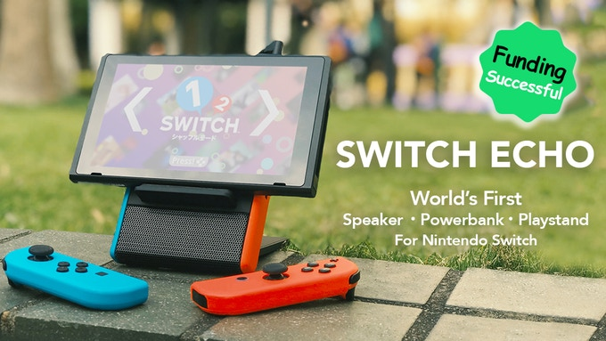 A Portable Three-In-One Gadget for Nintendo Switch