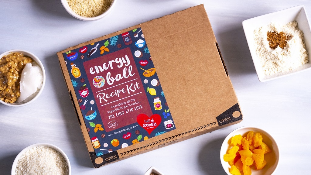 ENERGY BALL RECIPE KIT: All Ingredients + Recipe = 30 Snacks project video thumbnail