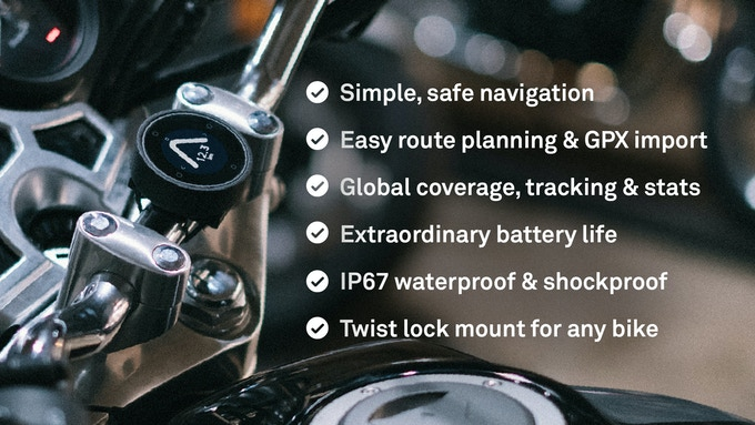 Beeline Moto   smart navigation for motorcycles, made simple