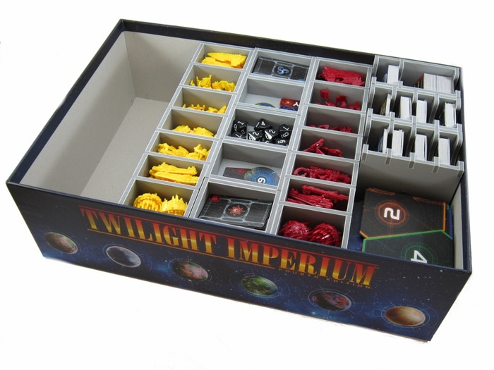 Folded Space - Board Game Inserts and Organisers Campaign 2