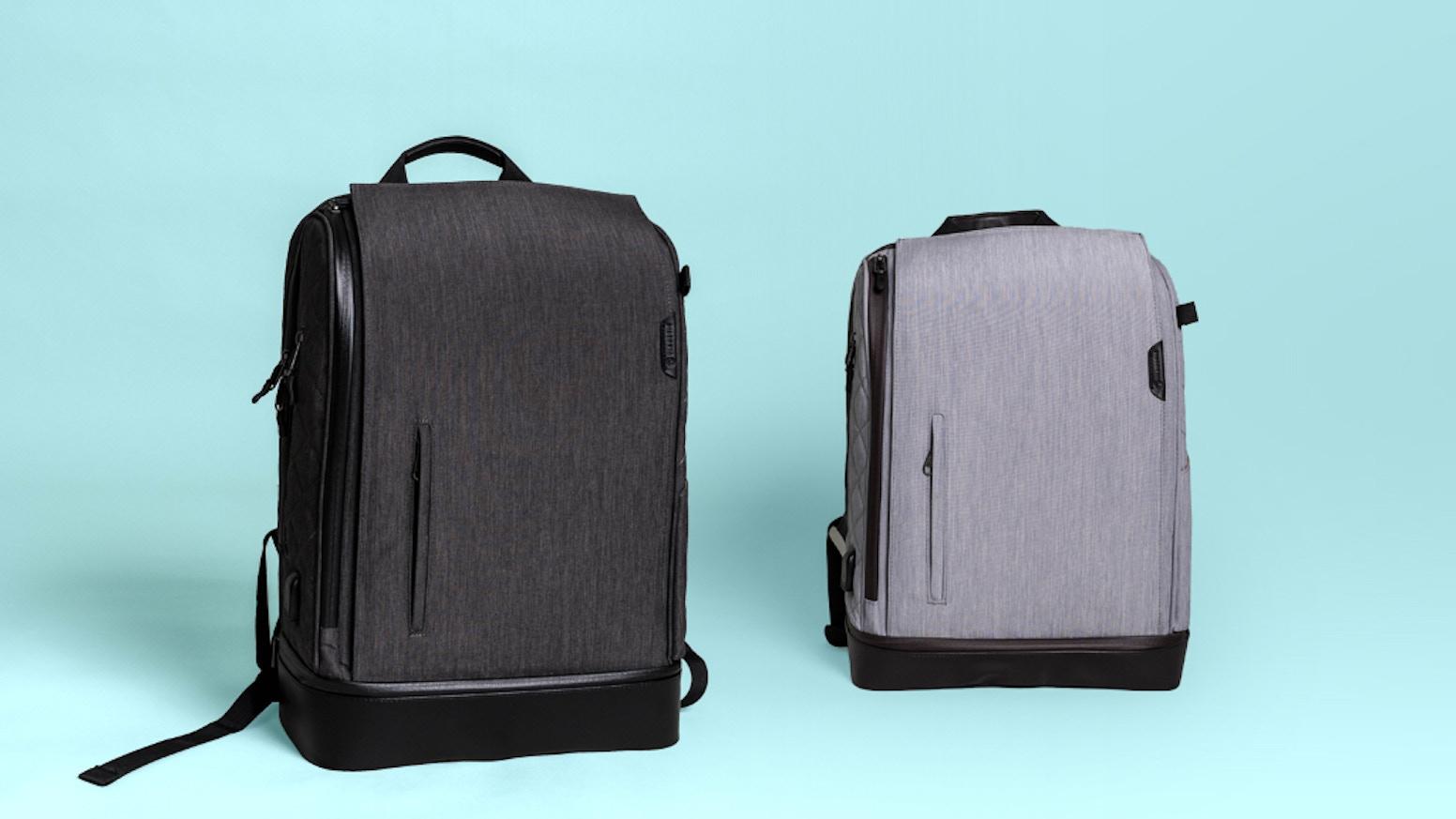 3b860704d61c95 The World's Smartest Diaper Bag Backpack. 5-in-1 Diaper bag makes parenting  easier! No public restrooms? No