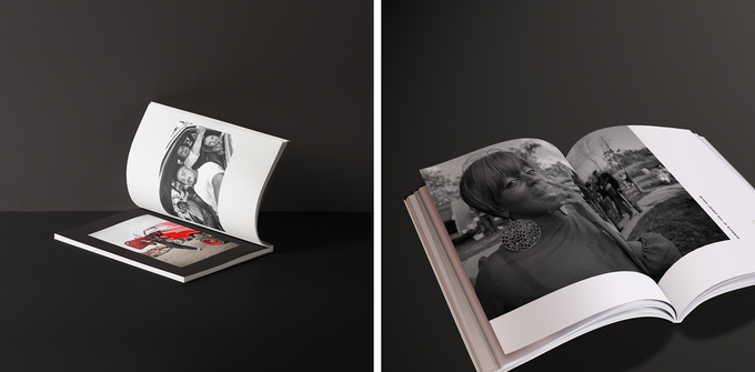 Early photo book mockups