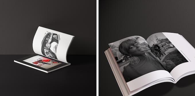 Early photo book mockups