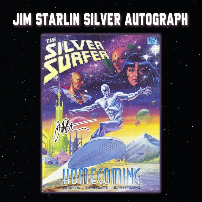 Silver Surfer Homecoming Signed by Jim Starlin