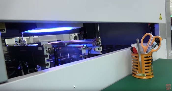 Automated quality inspection. Video by Charbax