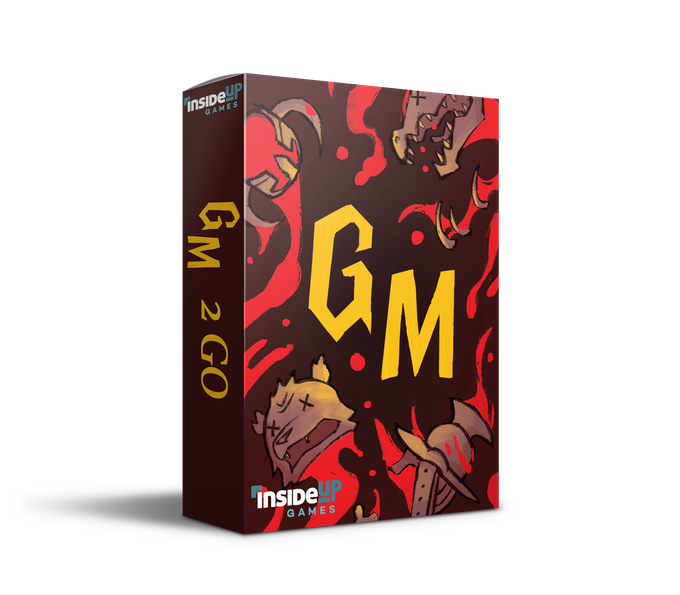 For GM on the go! Holds cards for 1-5 players!