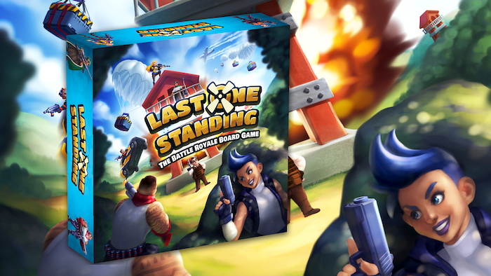 Last One Standing The Battle Royale Board Game By Brendan Mccaskell