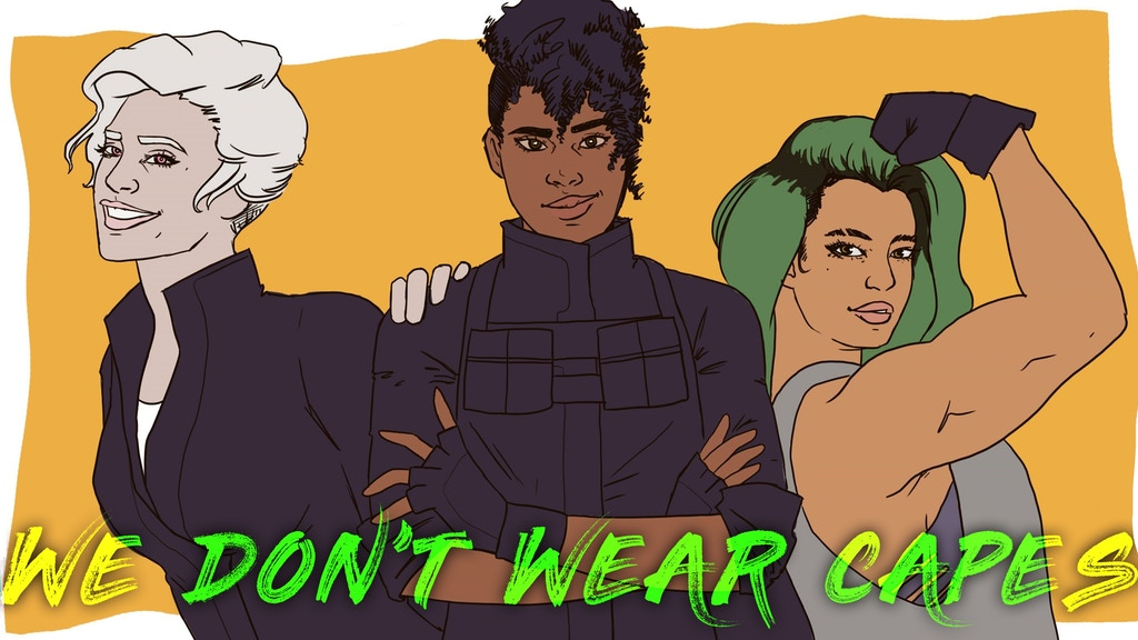 Project image for We Don't Wear Capes