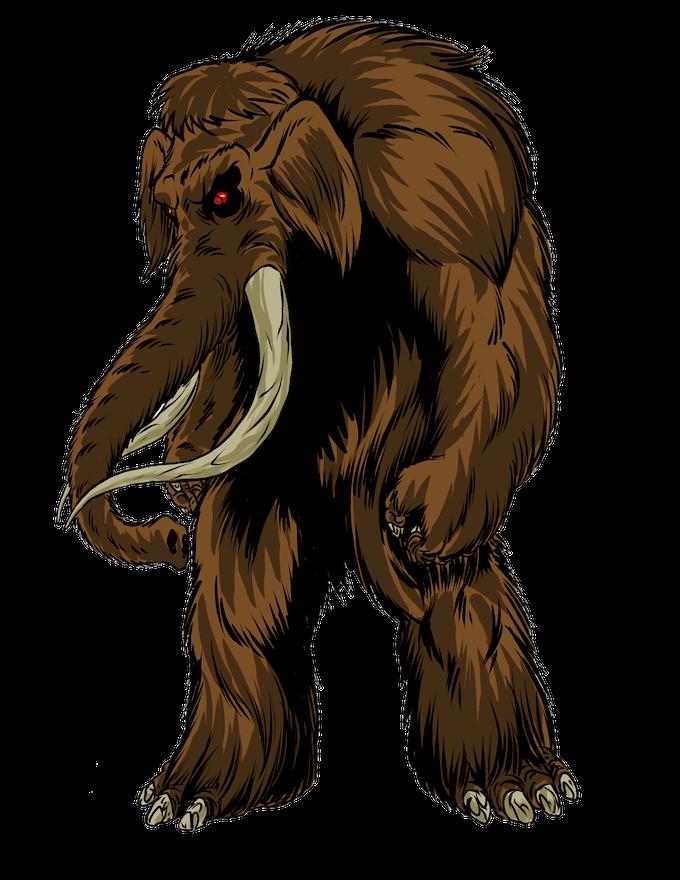 The Mammoth by Joe Singleton