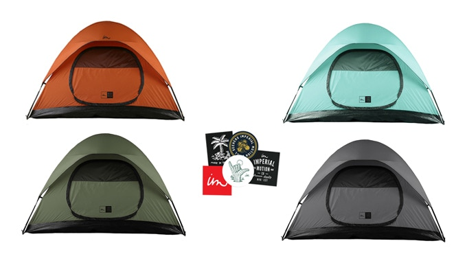 How bout 4 NCT Tents? Get every color if you want.