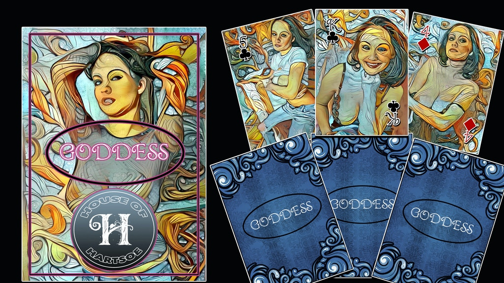 Goddess Playing Card Limited Edition Poker Deck