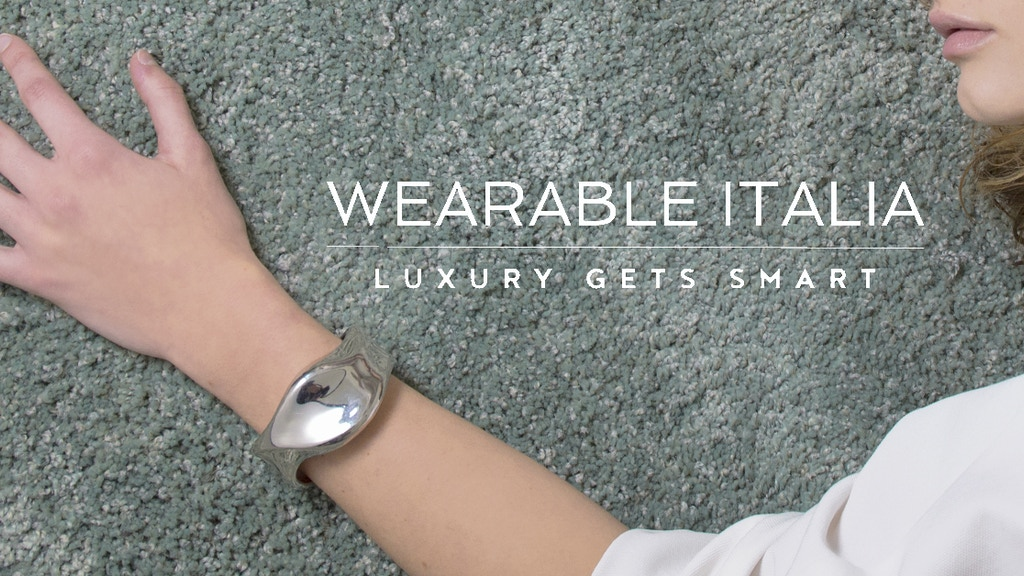 ProdigIO: Luxury Handmade Smart Bracelet From Italy project video thumbnail