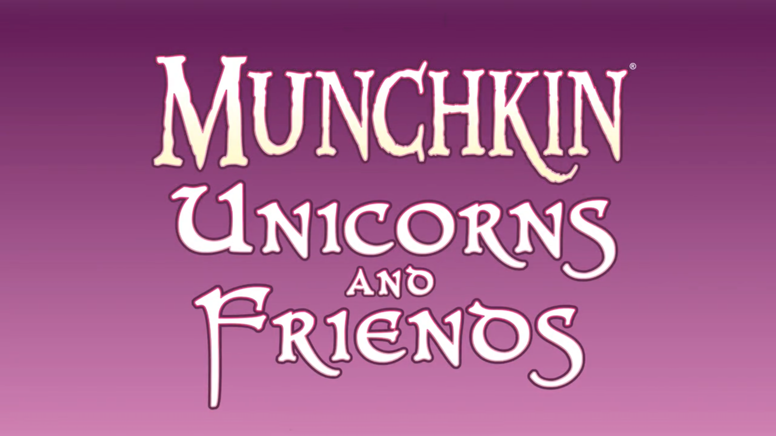 7ffced6f5e Munchkin Unicorns and Friends, a Munchkin mini-expansion loaded with  unicorns, cows,