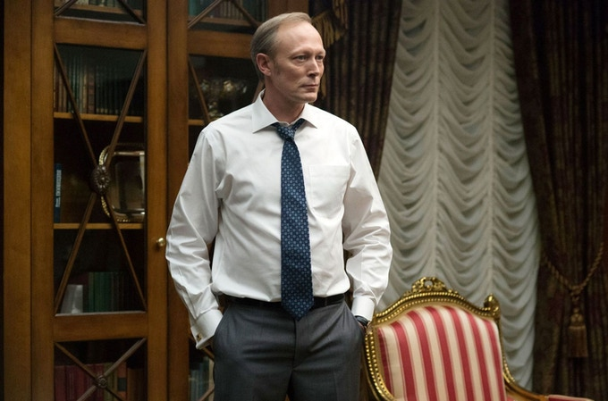 """Lars Mikkelsen as President Petrov in """"House of Cards"""""""