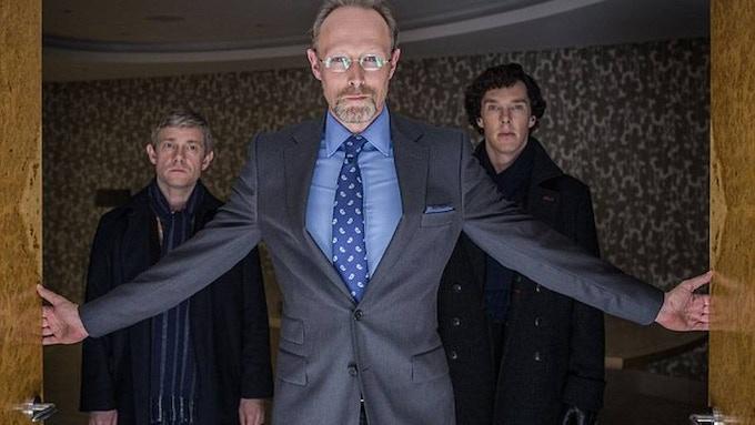 "Lars Mikkelsen as Charles Augustus Magnussen in ""Sherlock Holmes"""