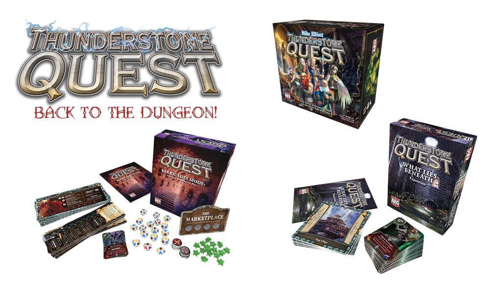 Thunderstone Quest Back to the Dungeon from AEG project video thumbnail