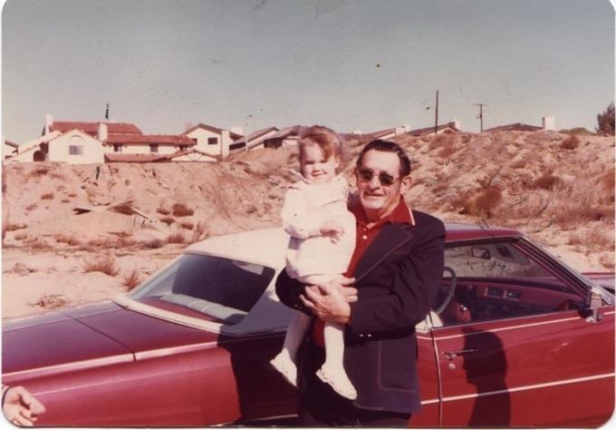 Jen & Grandpa Walt 1979