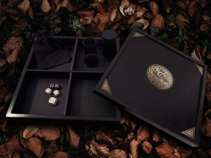 Dice Box | Rolling Tray Set