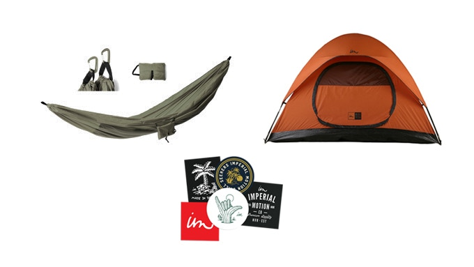 Get all the basics for a summer camping trip.