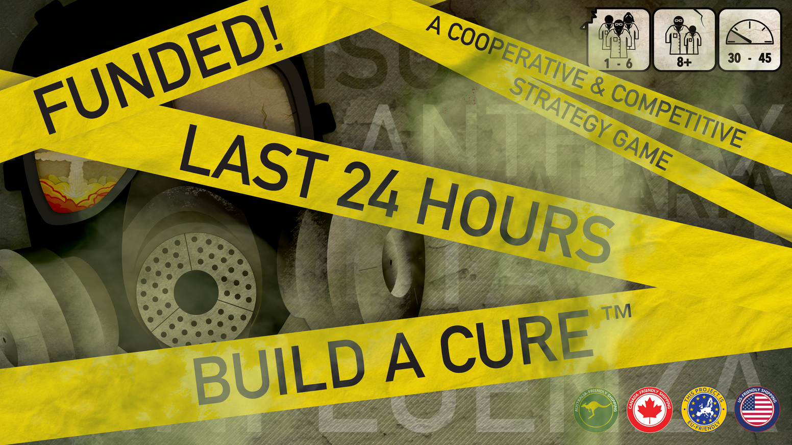 Build A Cure with your team before the resources run out, or suffer the fate of the diseases that plague you.