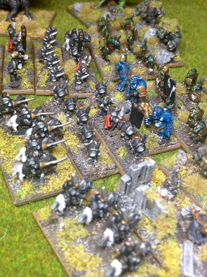 6mm armies clash