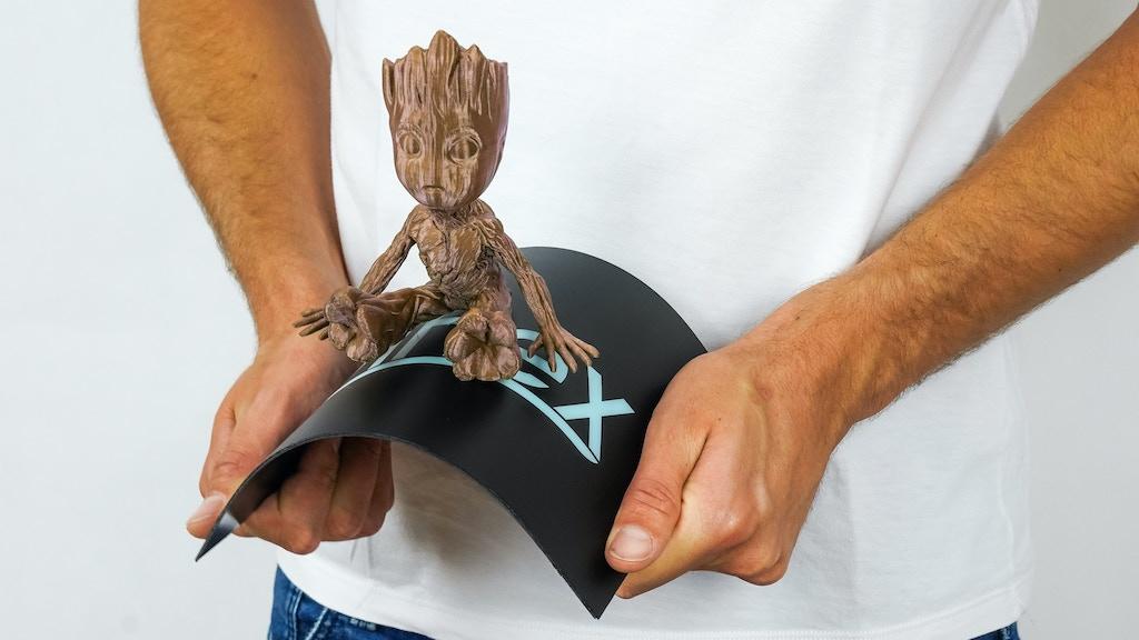Ziflex - Flexible & magnetic build platform for 3D Printers