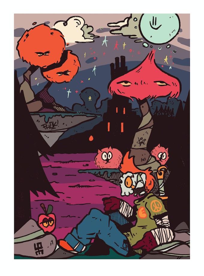 Kickstarter A4 Special Print