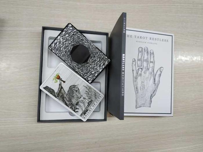 The Tarot Restless by Winslow Dumaine by Winslow Dumaine — Kickstarter