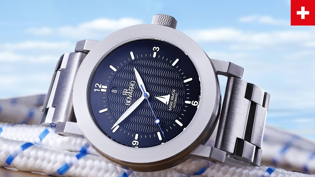 Nautical Watches with Chronograph & ETA TOP Grade Movements