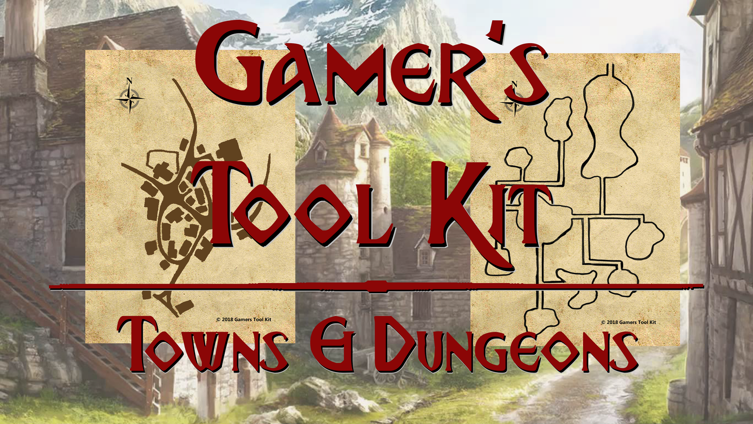 52 unique towns and 52 unique dungeons to simplify your game prep and improvisation.