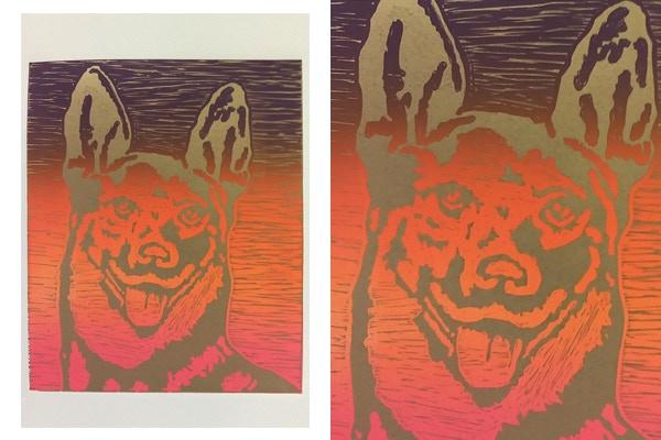 $6,000 MXN - 1 serigrafía de la artista Oslyn Whizar