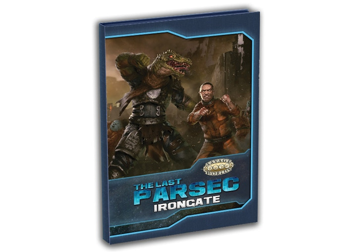 Irongate is a new sourcebook and Plot Point Campaign for The Last Parsec. It requires the Savage Worlds core rules, Savage Worlds Science Fiction Companion, and either the free Primer for The Last Parsec or The Last Parsec Core book.