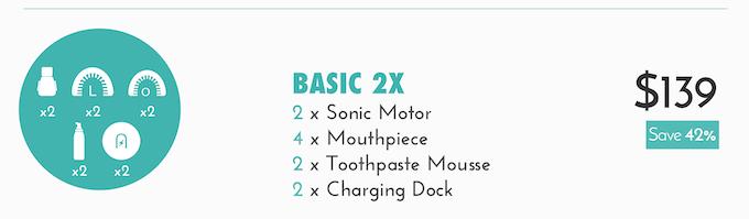 Basic 2X kit