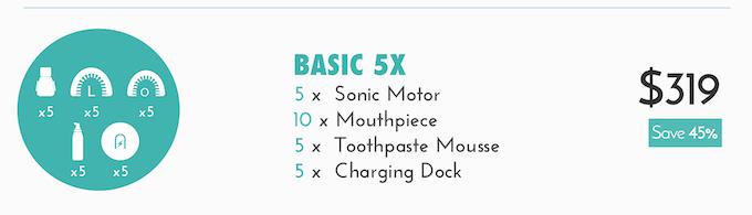 Basic 5X kit