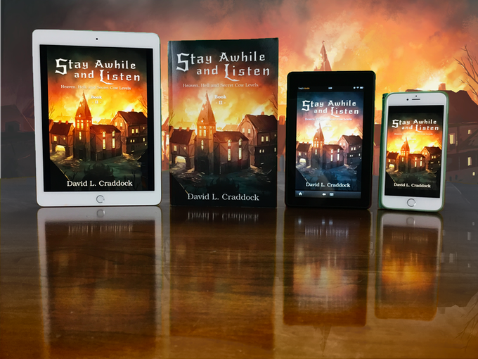 Stay Awhile and Listen: Book II will be available in paperback and on Kindle devices and compatible apps.