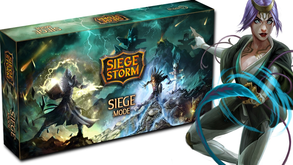 SiegeStorm: The SiegeMode project video thumbnail