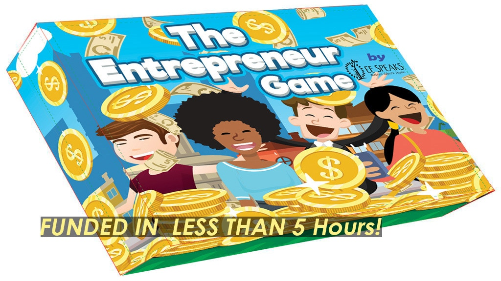 The Entrepreneur Board Game by EESpeaks project video thumbnail