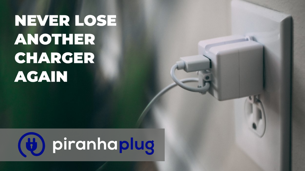 Piranha Plug: Never Lose Another Cell Phone Charger Again