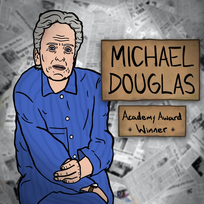 Michael Douglas is a prominent character in the film