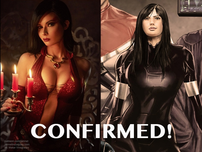 She's IN! JannetInCosplay as Etherea for our stretch goal!