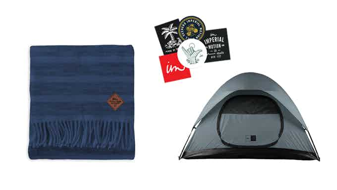 First 500 get an NCT Tent and a Blanket perfect for you next camping trip.