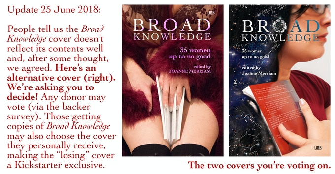 Update 25 June! New cover for Broad Knowledge.