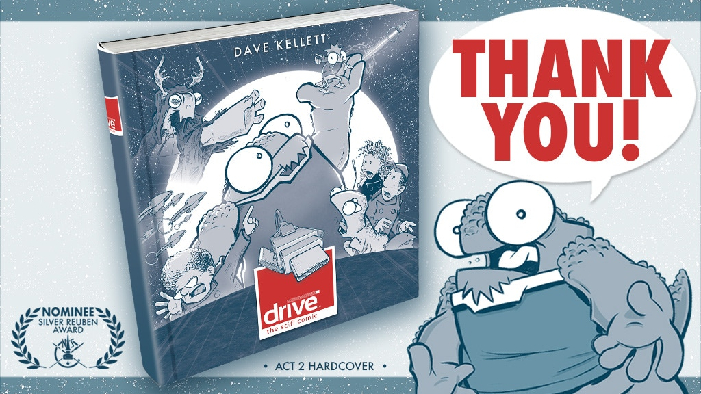 Drive Act 2 Hardcover [Or Get Acts 1 & 2!] project video thumbnail