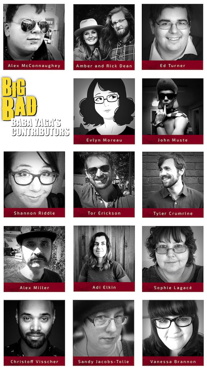 Baba Yaga's Contributors