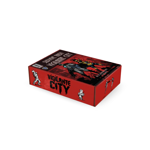 Mock up art of the stretch goal: Limited Edition Box Set, NOT the final project.