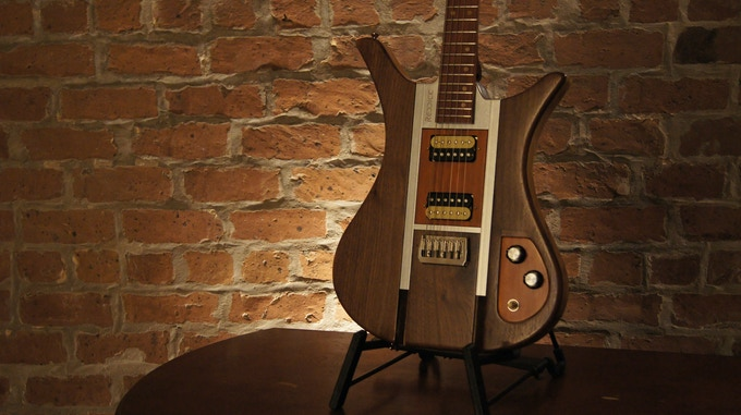 Mercury with Raven body (black walnut top on ash body)
