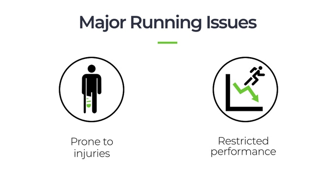 Wrong running technique = harm to your body