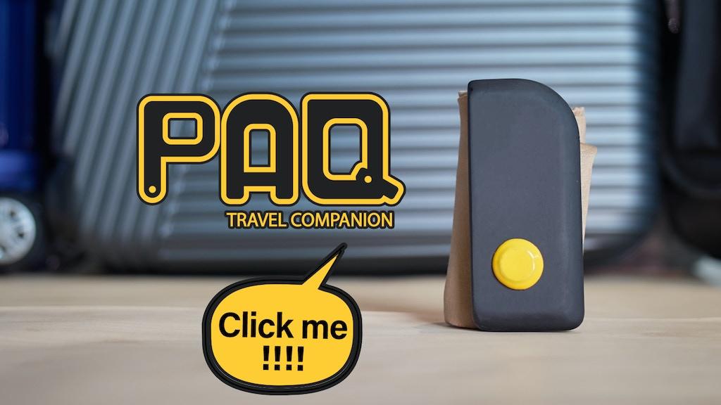 PAQ: Travel Companion project video thumbnail